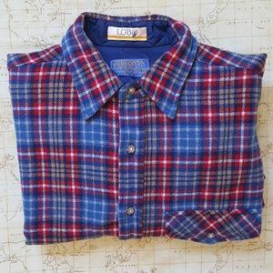 Vintage Pendleton Lobo Wool Shirt